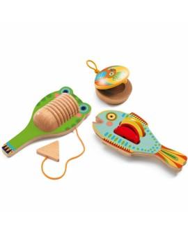 Set de 3 percussions