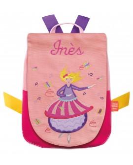 sac à dos à broder danseuse