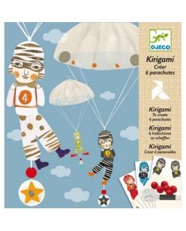 Kirigami : créer 6 parachutes