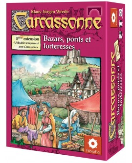 Carcassonne bazar, forteresses ponts ext8