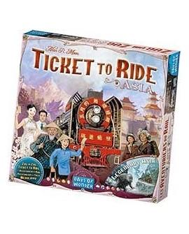 Les aventuriers du rail asie