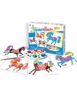Aquarellum junior chevaux
