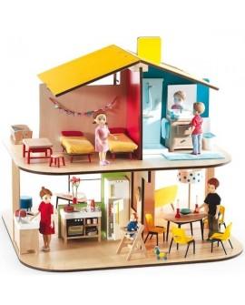 Color house meublée