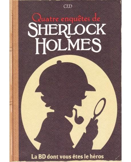 Sherlock Holmes La Bd Dont Vous Etes Le Heros Quatre Enquetes Livre 2