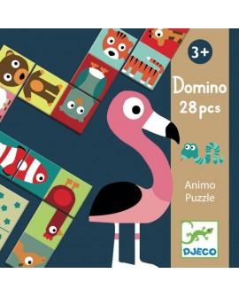 Domino Animo-puzzle