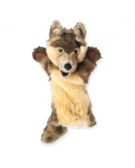 marionnette loup long gant
