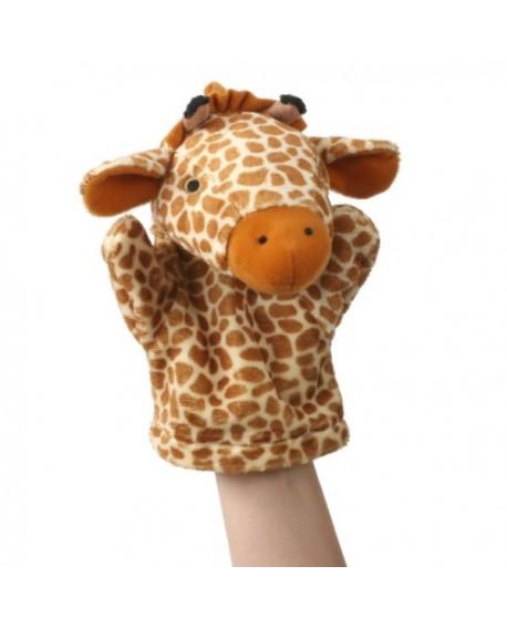 1ere marionnette girafe