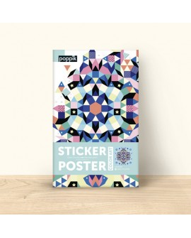 Sticker mandala geant - POPPIK