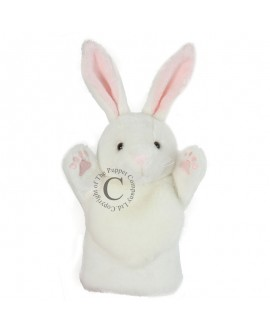 marionnette lapin blanc