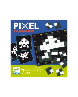 Pixel tangram - DJECO