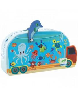 L'aquarium puzzle 16 pièces - Djeco