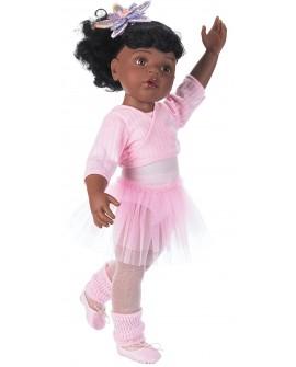 Hannah 50 cm au ballet, afroamericaine