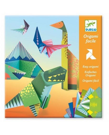 Origami Dinosaures Lutin Ludique