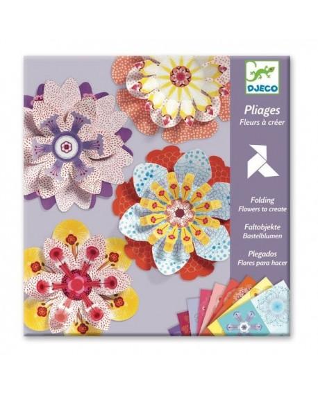 Pliage fleurs à créer - Djeco