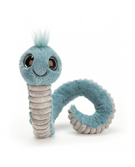 Wiggly worms blue