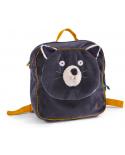 sac à dos  chat gris Alphonse- les moustaches