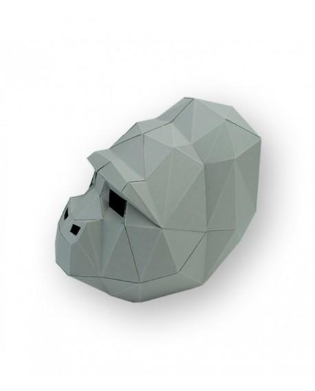 masque papier 3D gorille