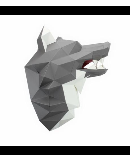 Loup papier 3D