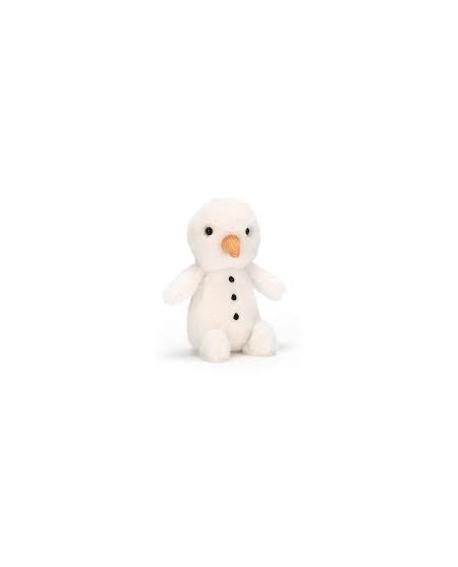 Fluffy bonhomme de neige