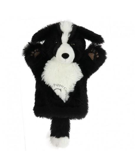marionnette chien border collie
