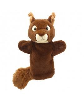 marionnette main ecureuil