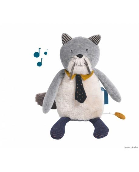 chat musical  les moustaches