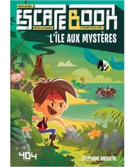 Escape book junior :l'île aux mystères