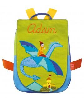 sac à dos à broder dragon volant