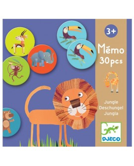 Mémo jungle 30p