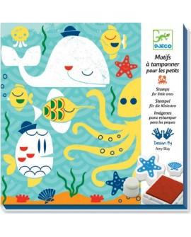 Motifs à tamponner : Sous la mer