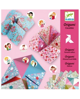 Origami : cocote à gages