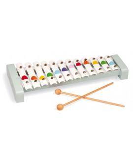 Xylophone Métal Bois Confetti