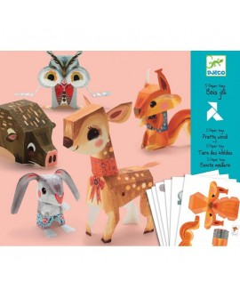 Paper toys : Bois joli