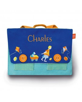 Cartable brode chariot