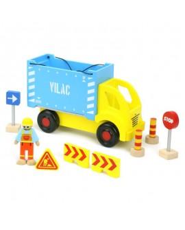 camion porte container