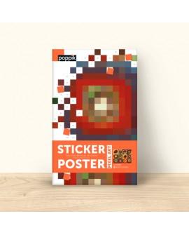 Sticker etude des couleurs - POPPIK