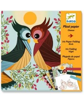 Papier Plissé oiseaux - Djeco