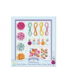 bijoux à créer :  Perles et puces