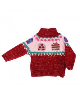 pullover Pudelmütze 30 cm