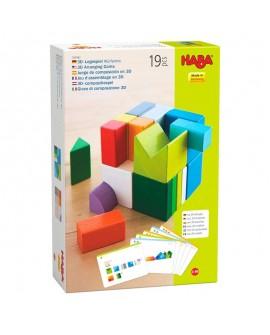 jeu d'assemblage 3D cube mix