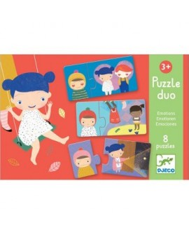 Puzzle duo émotions