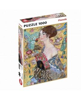 puzzle Klimt dame à l'eventail  1000p