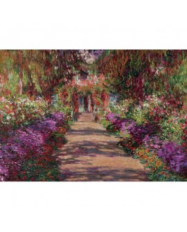 puzzle Monet Giverny 1000p