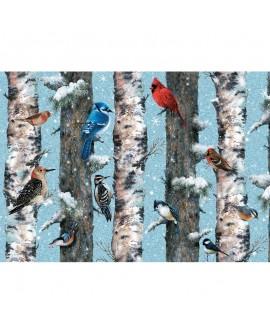 puzzle oiseaux d'hiver
