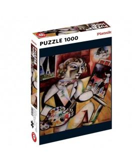 puzzle Chagall - autoportrait