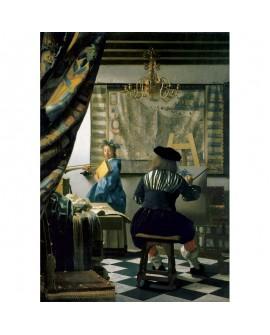 puzzle Vermeer - studio artiste