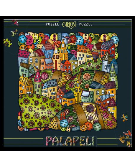 Palapeli -Mountain village