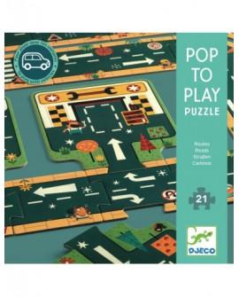 Les routes - puzzle 24p