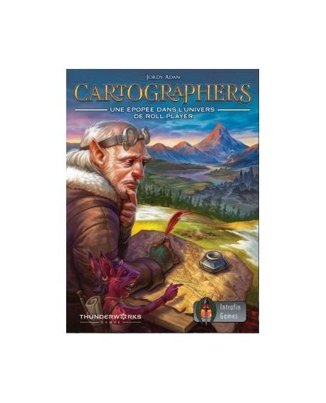Cartographers: A Roll player's Tale jeu de plateau VF