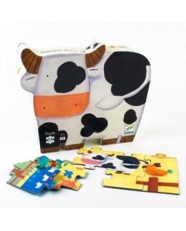 Les vaches à la ferme - 24 pcs